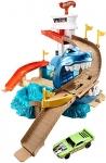 Hot Wheels Color Shifters Shark Splashdown Trackset