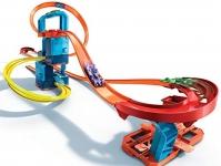 Hot Wheels Track Builder Unlimited Ultra Stackable Booster Kit Motorized Set