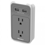 Huntkey 2-Outlet Wall Mount Cradle