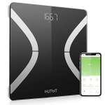 HUTbIT Bluetooth Body Fat Scale, Smart Body Composition Monitor BMI Bathroom Scale with iOS/Android App