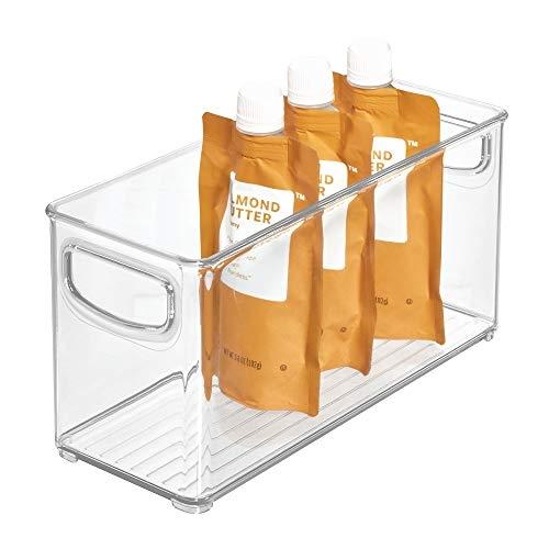 iDesign Plastic Stackable Organizer Storage Bin, Small