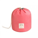 70% Off Idomeo Drawstring Round Barrel Waterproof Cosmetic Bag