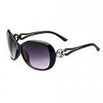 80% Off Idomeo Women Fashion Oval Shape Framed Sunglasses