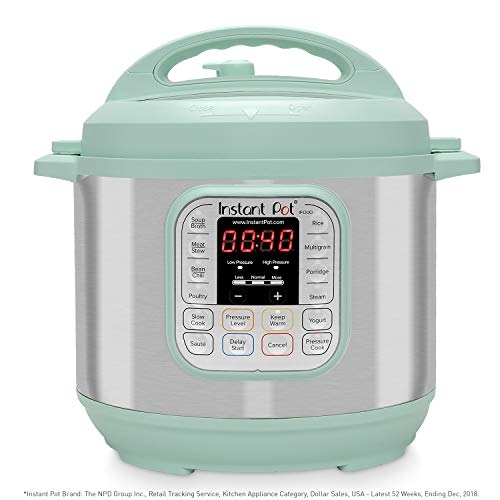 Instant Pot Duo 60 TEAL 6 Qt 7-in-1