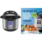Instant Pot Ultra Electric Pressure Cooker, 6Qt 10-in-1 + How to Instant Pot: Mastering All the Functions of the One Pot That Will Change the Way You Cook