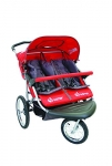 Instep 01183CRED Safari TT Double Jogger – Red