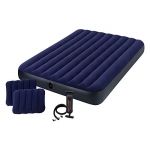 Intex Classic Downy Airbed Set with 2 Pillows and Pump