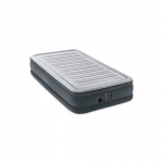 Intex Comfort Plush Mid Rise Dura-Beam Airbed with Internal Electric Pump, Bed Height 13″, Twin