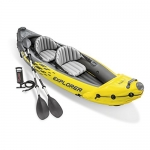 Intex Explorer K2 Kayak, 2-Person Inflatable Kayak Set with Aluminum Oars