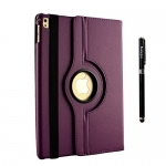 iPad Case 9.7 inch + Auto Sleep/Wake, 360 Degree Rotating+Business Stylus Pen