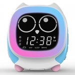 ITOMA Addo Ready-to-Rise Children's Alarm Clock with Sleep Trainer, Nightime LEDs and Sleep Sound Machine