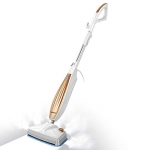 iwoly M11 Steam Mop with Handle Switch, White and Golden