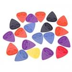 Jabey 0.71mm Projecting Nylon Guitar Picks Plectrums, 20pcs