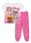 L.O.L. Surprise! Girls 2-Piece Cotton PJ