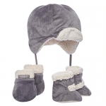 JJ Cole Bomber Hat Set