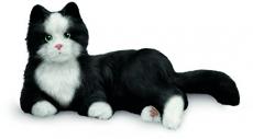 JOY FOR ALL Ageless Innovation Companion Pets | Black & White Tuxedo Cat