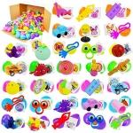 JOYIN 144 PCS Prefilled Easter Eggs with Assorted Toys