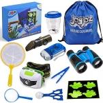 Joyjoz Outdoor Explorer Kit for Kids, Nature Adventure Kit, 12 Pcs