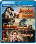 Jumanji (1995) / Jumanji: The Next Level / Jumanji: Welcome to the Jungle – Set