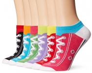 K. Bell Sport Women's Sneaker Low Cut No Show Socks 6-pack
