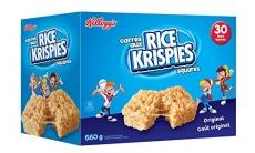 Kellogg's Rice Krispies Square Bars, Original, 30 Count