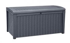 Keter Borneo 110 Gallon Deck Box, Grey