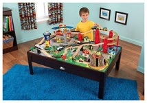 KidKraft Airport Express Espresso Table and Set