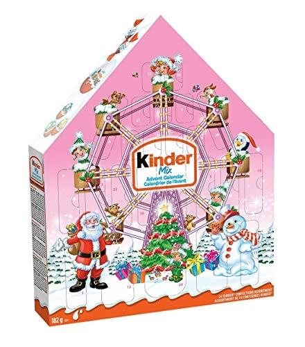 Kinder Advent Calendar Pink