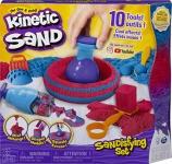 Kinetic Sand – Sandisfying Set – Includes 10 Tools & Molds