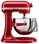 KitchenAid 6-Qt. Bowl-Lift Stand Mixer with Wire Whip, Flat Beater, and Spiral Dough Hook