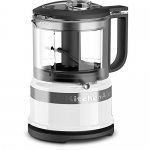 KitchenAid 3.5 Cup Mini Food Processor, White