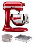 KitchenAid Professional 6 Quart Bowl Lift Stand Mixer with 2 Piece Bakeware Set