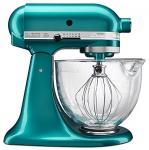 KitchenAid KSM155GBSA 5-Quart Artisan Design Series Mixer with Bowl, Sea Glass