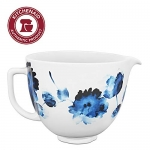 KitchenAid Ceramic Bowl 5-Quart Mixer- Ink Watercolour