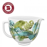 KitchenAid Ceramic Bowl 5-Quart Mixer- Tropical Floral
