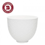 KitchenAid Ceramic Bowl 5-Quart – Mermaid Lace White