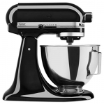 KitchenAid 300 Watt 4.5-QT Tilt Head Stand Mixer, Onyx Black