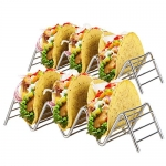 KITCHENATICS Stainless Steel Wire Taco Holder Stand, 2 Pack