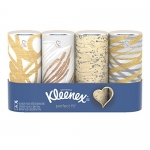 Kleenex Perfect Fit Facial Tissues, 4 Pack, 50 Tissues per pack