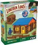 Knex Lincoln Logs Oak Creek Lodge Building Set