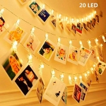 KNONEW LED Photo Clip String Lights – 20 Photo Clips