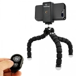 KobraTech Cell Phone Tripod Stand – Flexible Tripod for iPhone or Android