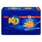 Kraft Dinner Original Macaroni & Cheese, 12 Pack