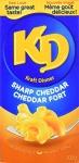 Kraft Dinner Sharp Cheddar Macaroni & Cheese, 200G Box, 24 Count