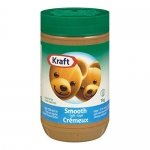 Kraft Peanut Butter, Light Smooth, 1kg