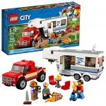 LEGO City Pickup & Caravan Building Kit (344 Piece)