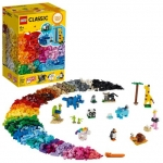LEGO Classic Bricks and Animals Building Kit