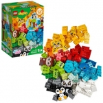 LEGO DUPLO Classic Creative Animals Building Kit