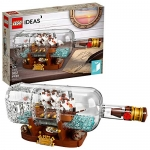 LEGO Ideas Ship in a Bottle Expert Building Kit