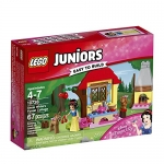 LEGO Juniors Snow White's Forest Cottage Building Kit, 67 Piece